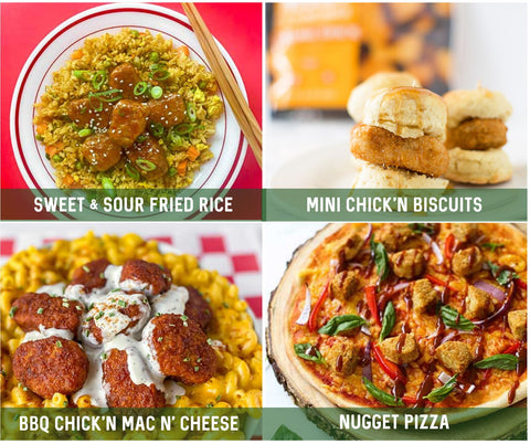 Alpha Foods Vegan Chick'n Nuggets Meal Ideas