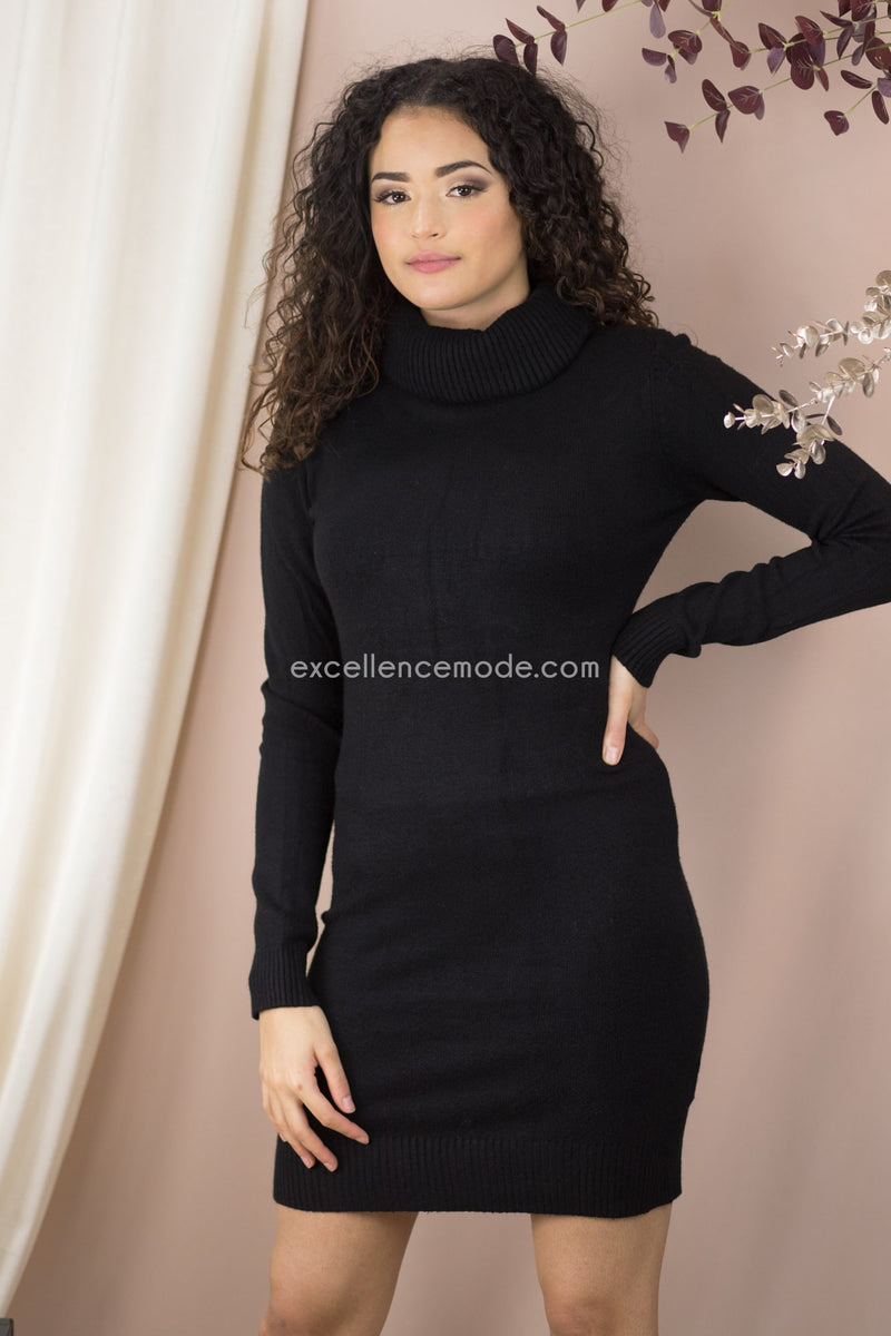 ROBE PULL MANCHE LONGUE - excellence