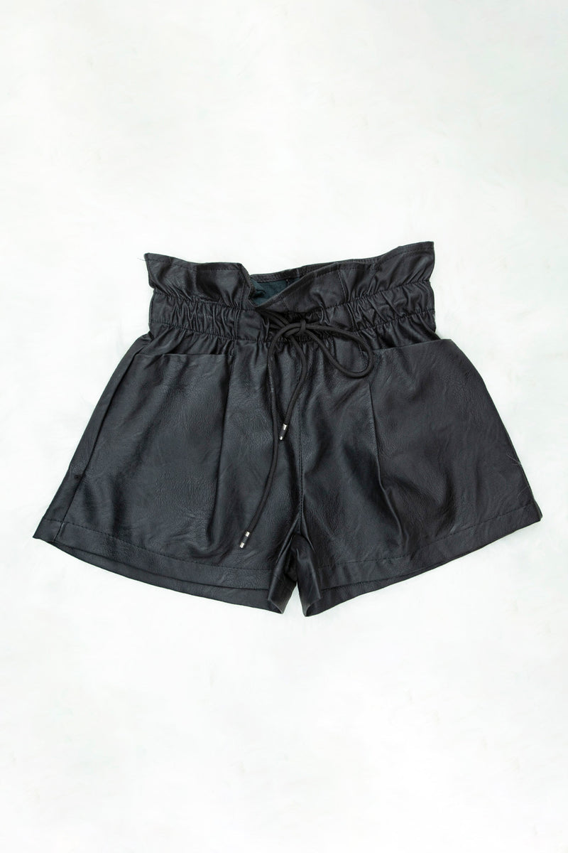 SHORT SIMILI CUIR - excellence