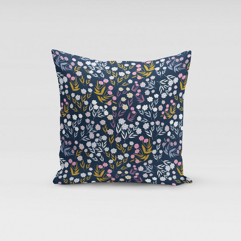 Peppa Navy Floral Pillow - Shop Tilde