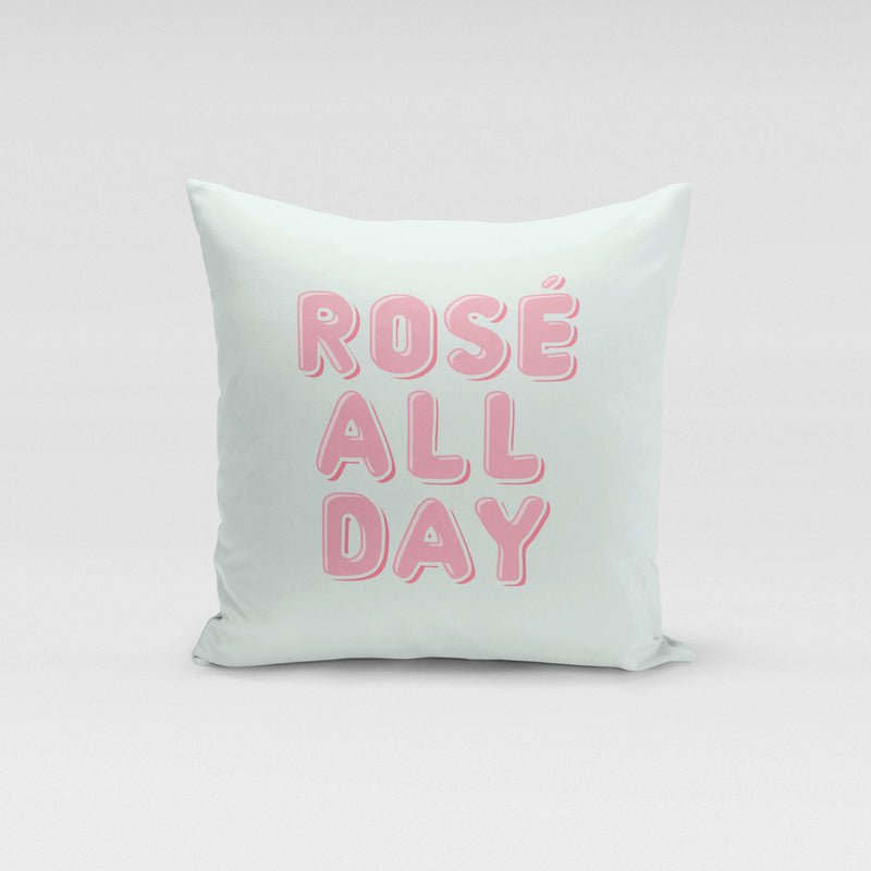 Rosé All Day Throw Pillow - Shop Tilde