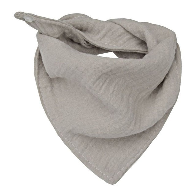 Minimalist Cotton Bandana Bib - Shop Tilde