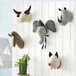 Plush Animal Wall Mount (Classic Collection) - Shop Tilde