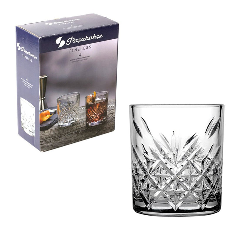 Pasabahce Timeless Tumblers Set of 4 Pieces (205 ml)