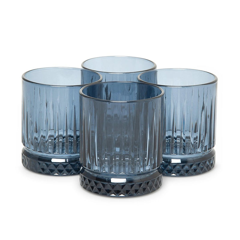 Pasabahce Elysia Navy Tumblers Set of 4 Pieces (355 ml)