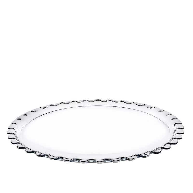 Pasabahce PATISSERIE Glass Serving Plate - 37 cm