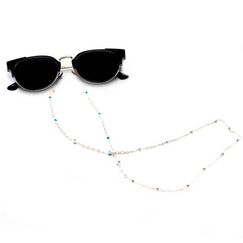 Thin Decorated Metal Glasses Chains