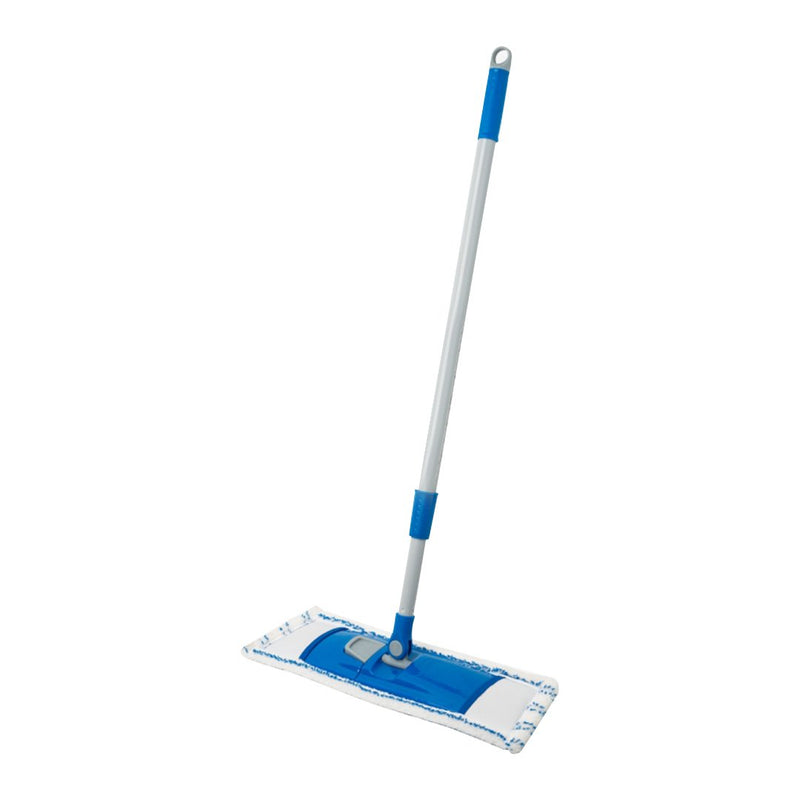 Kleaner Microfiber Flat Mop with Steel Handle