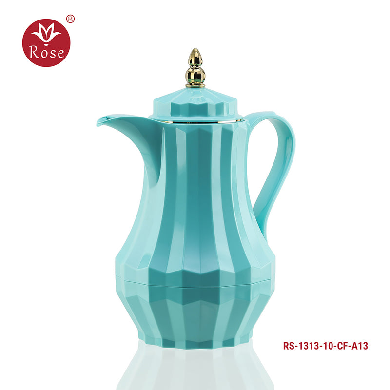 Rose Coffee & Tea Turquoise Flask 1.4 L