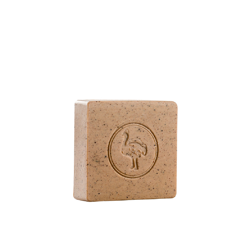 Ostrich Nabulsi Soap With Dead Sea Mud 140gm