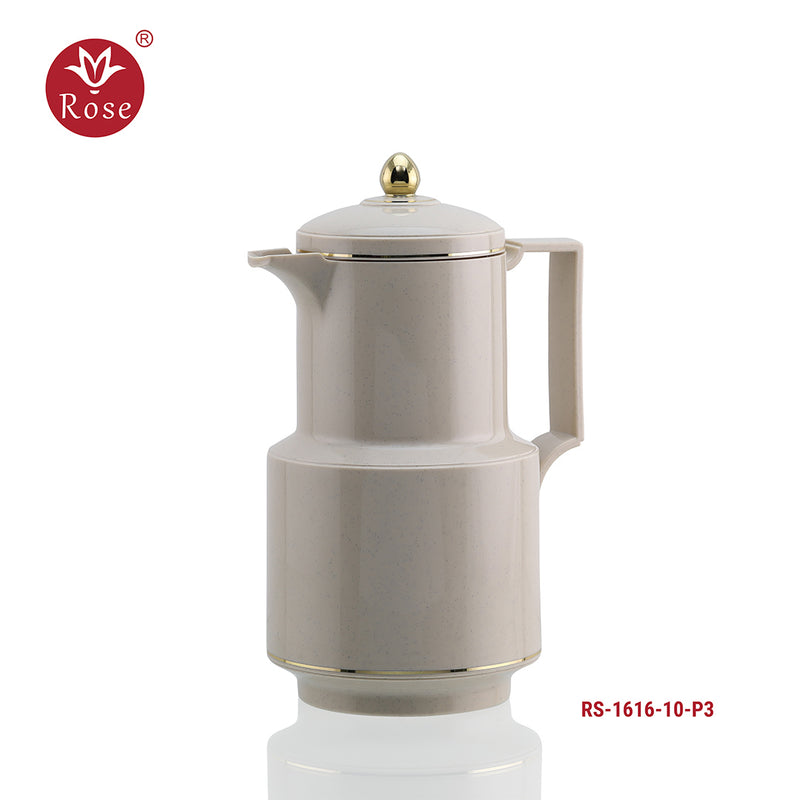 Rose Coffee & Tea Gray Flask 1.0 L