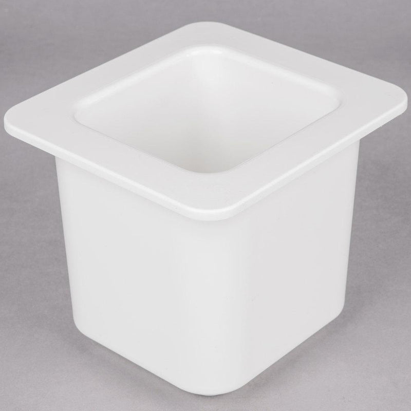 Cambro Gastronorm White Food Pan with Lid 2 pcs
