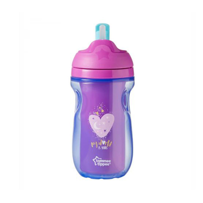 Tommee Tippee insulated Straw Cup (260 ml), Ages 12 Months+