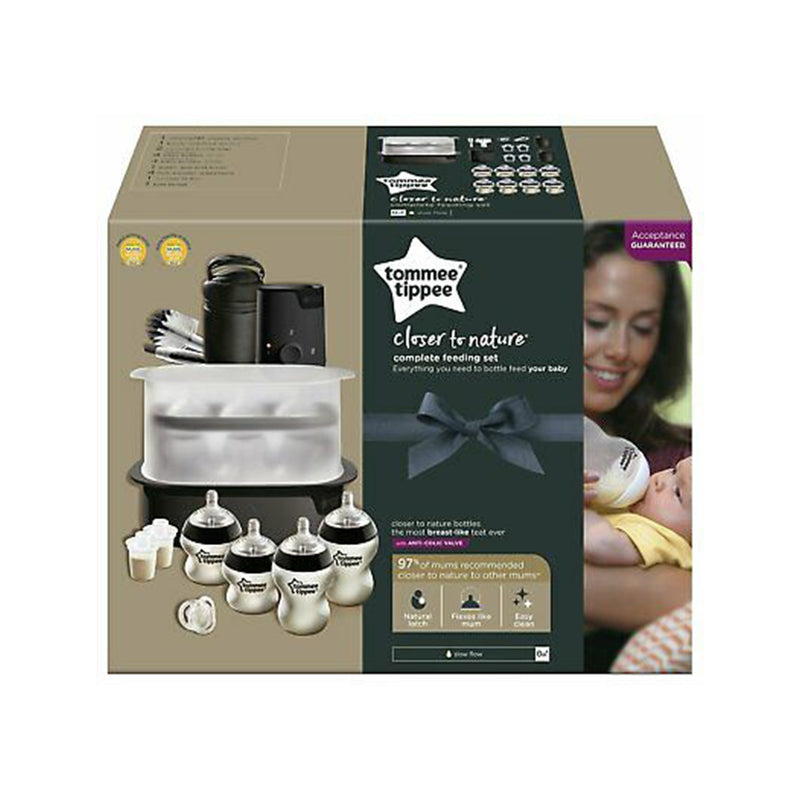Tommee Tippee Closer to Nature Complete Feeding - ages 0 Months+(Limited Edition)
