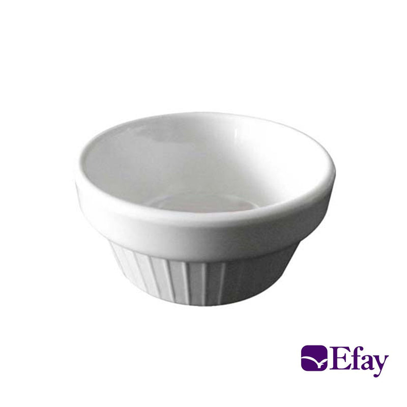 Efay Fluted Round Medium Ramekin