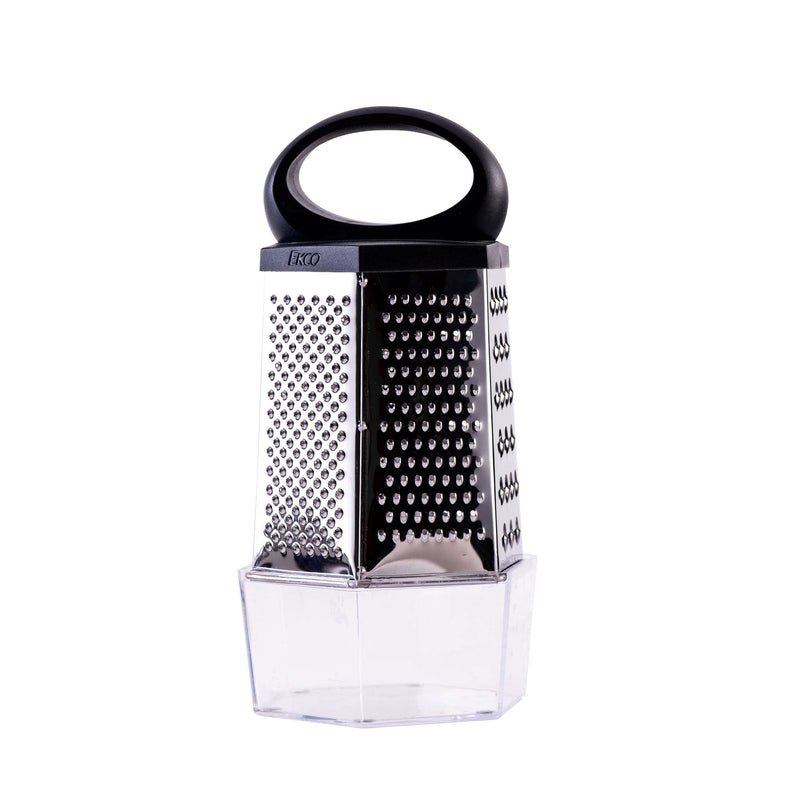 Ekco Stainless Steel Six Sided Grater