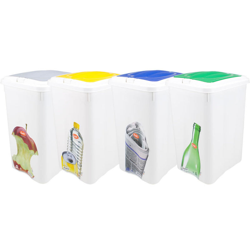 Codil Easy Touch Trash Container (21 L) - 1 Pc
