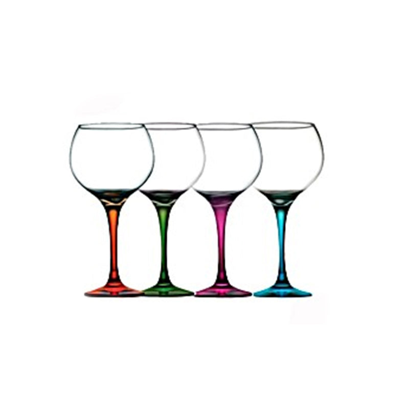 Pasabahce Colored Stemware (4 Pcs)