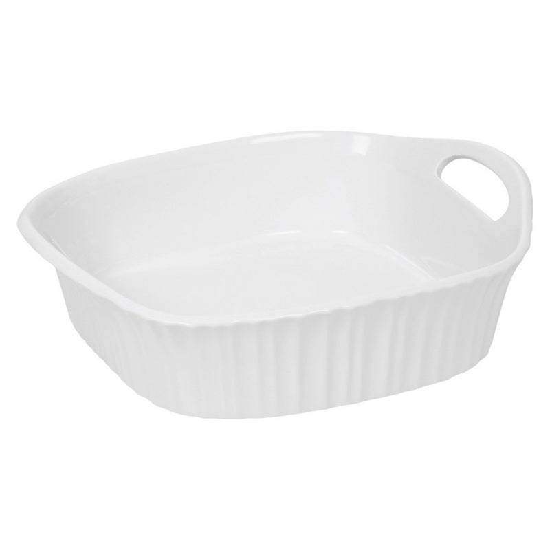 White Casserole Dish by CorningWare  Food Serving Porcelain