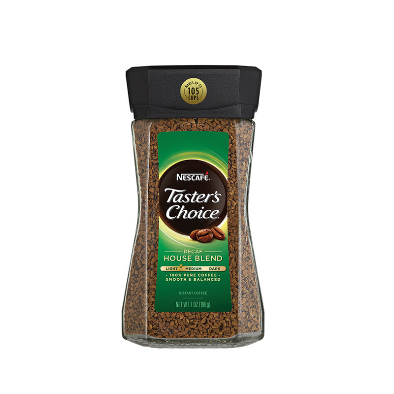 Nescafe Taster's Choice Instant Coffee Decaf House Blend