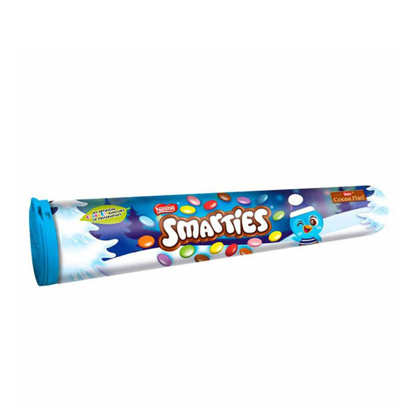 Smarties Colored Tube Chocolate 130 g
