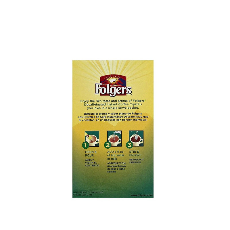 Folgers Classic Coffee 6 Packs 12 g