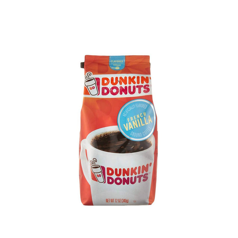 Dunkin Donuts French Vanilla Coffee 340 g
