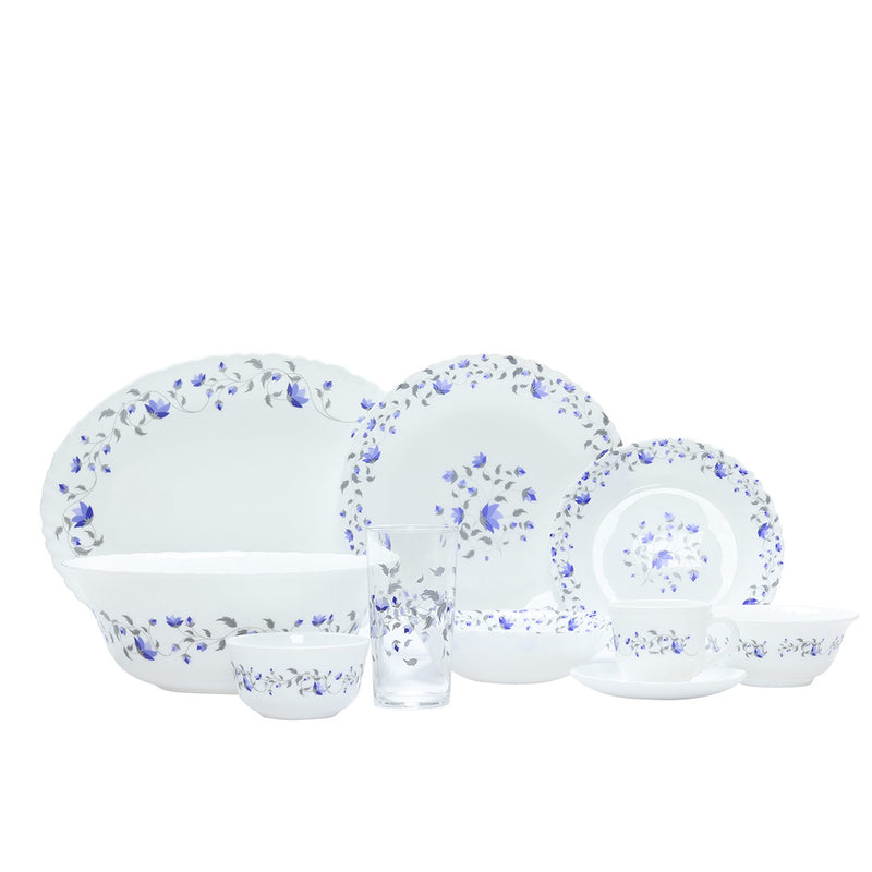 Endura Helena Glass Dinner Set 50 pcs