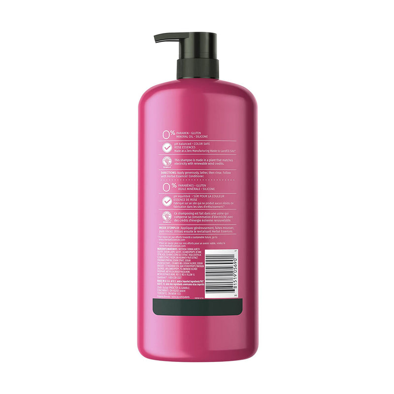 Herbal Essences Shampoo for Color-Treated Hair, Color Me Happy 1 L (Parabens, Silicone, Gluten and Mineral Oil Free)