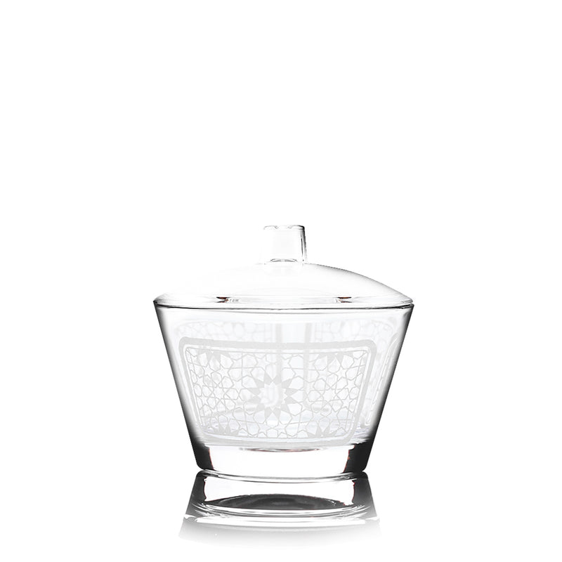 Sugar Bowl and Lid (White) 1 Pc