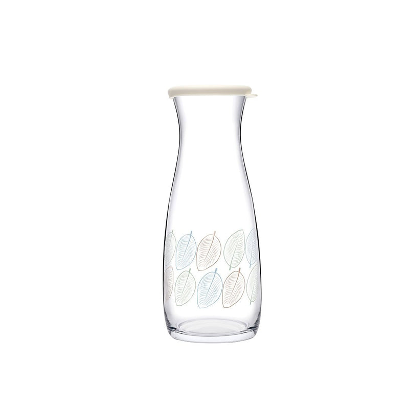 Pasabahce Decorated Glass Carafe with Lid