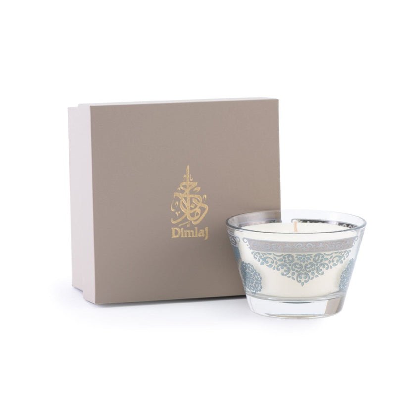 Dimlaj Candle(Platinum & Blue)