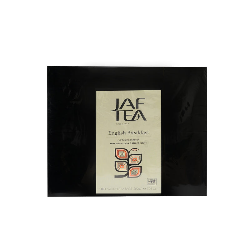 Jaf Tea Black Tea English Breakfast 100 Tea Bags