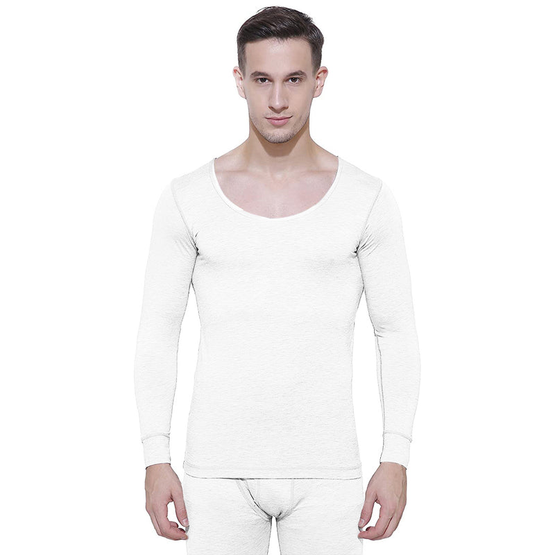 Body Care Insider Men's White Thermal Shirt 90 cm