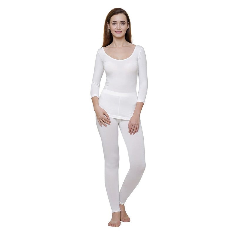 Body Care Ayaki Women's Off-White Thermal Outfit 80 cm