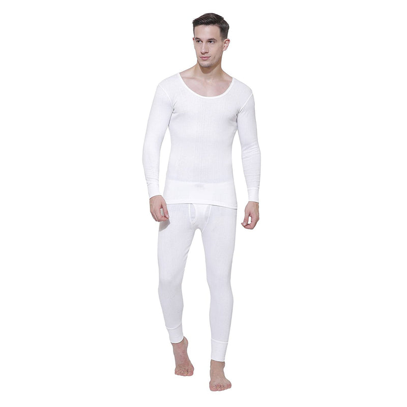 Body Care Insider Men's White Thermal Outfit 105 cm
