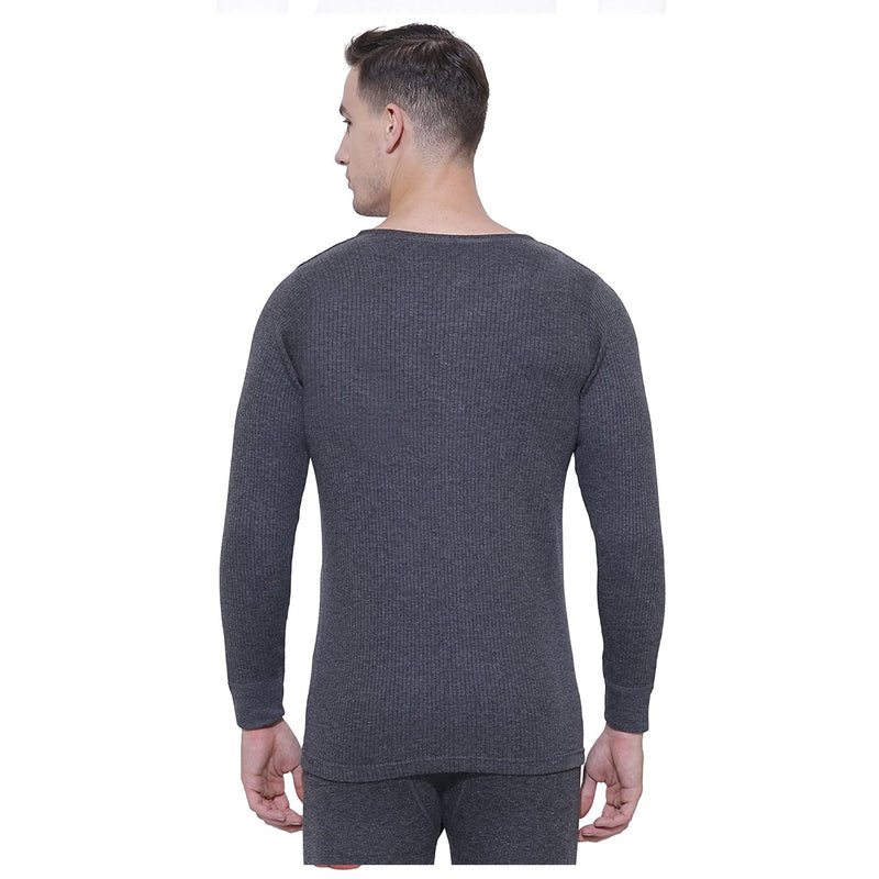 Body Care Insider Men's Grey Thermal Shirt 100 cm