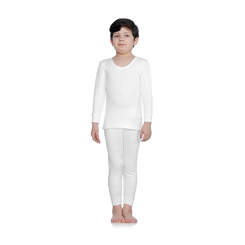 Body Care Insider Kids' White Thermal Outfit 30 cm