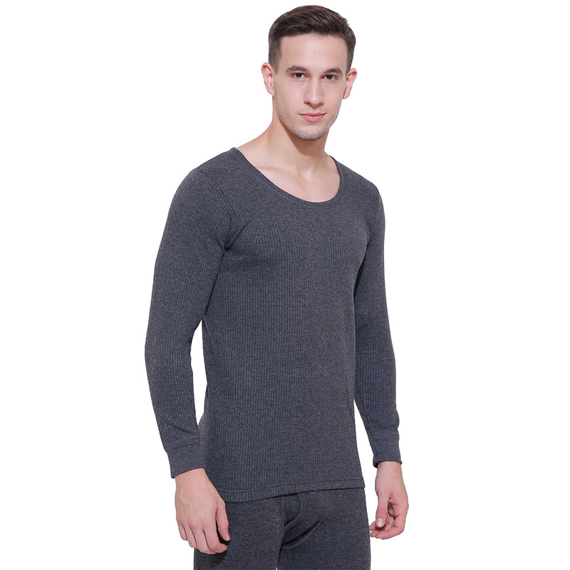 Body Care Insider Men's Grey Thermal Shirt 85 cm
