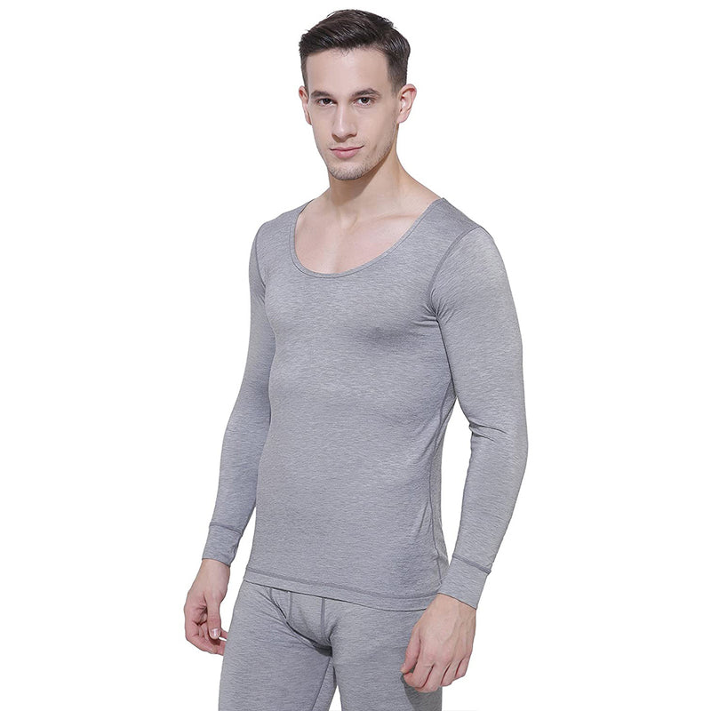 Body Care Insider Men's Grey Thermal Shirt 90 cm