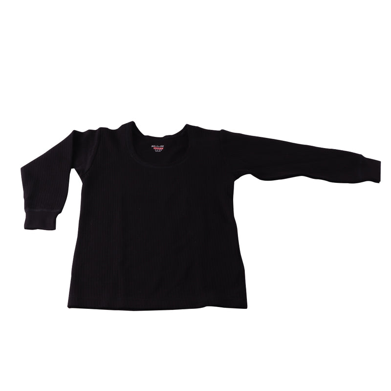 Body Care Insider Kids' Black Thermal Shirt 60 cm