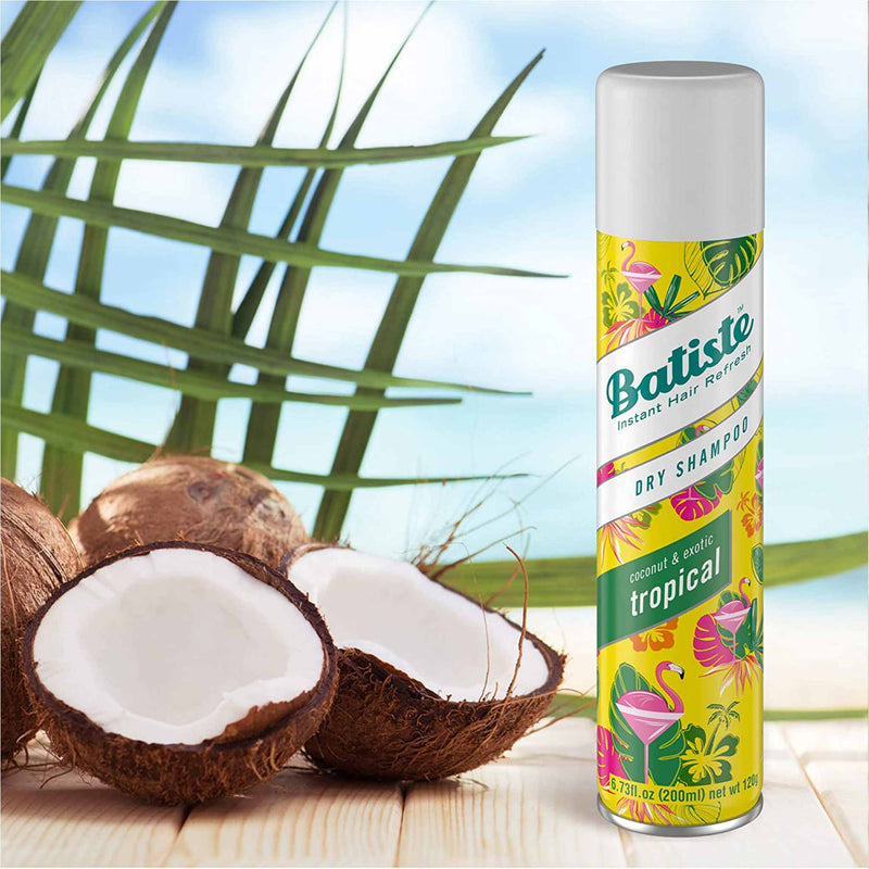 Batiste Dry Shampoo Coconut and Exotic Tropical (200 ml)