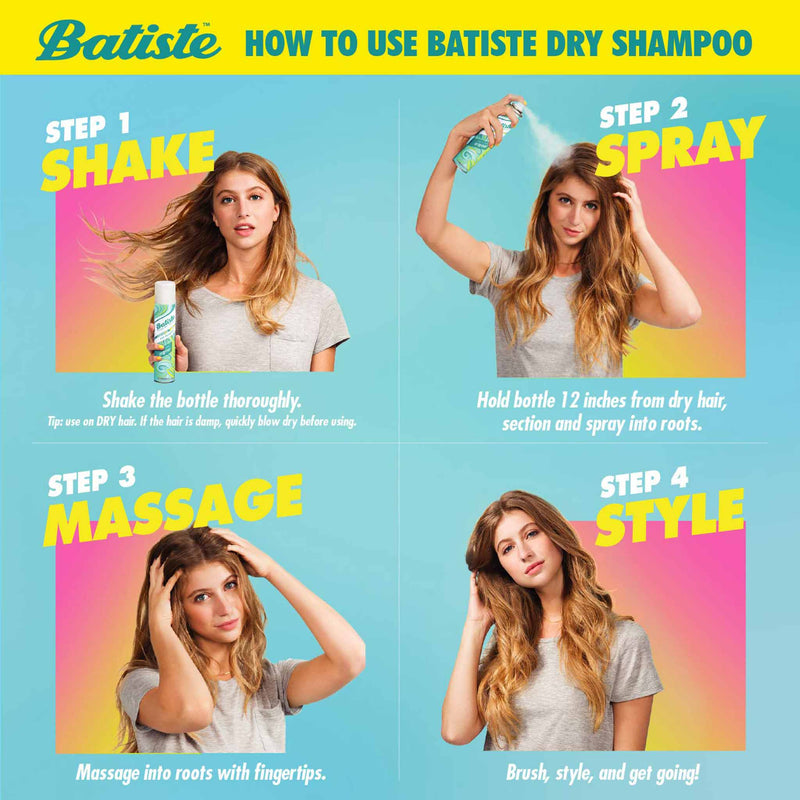 Batiste Dry Shampoo Vibrant and Fruity Neon (200 ml)