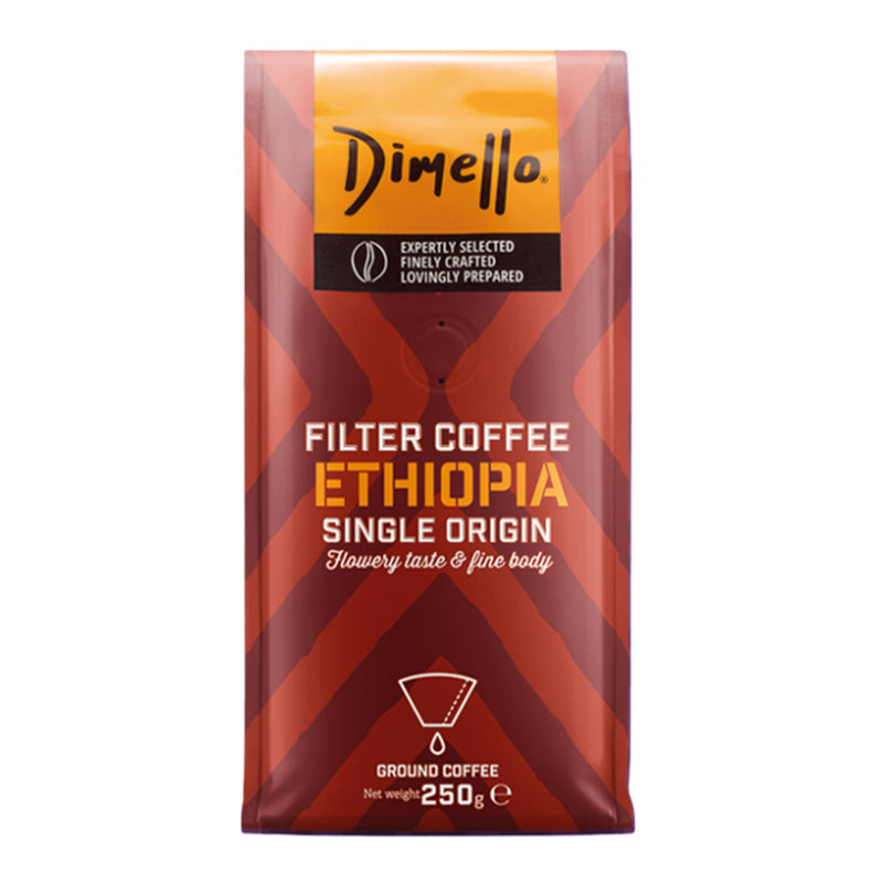 Dimello Ethiopia Filter Ground Coffee 250g