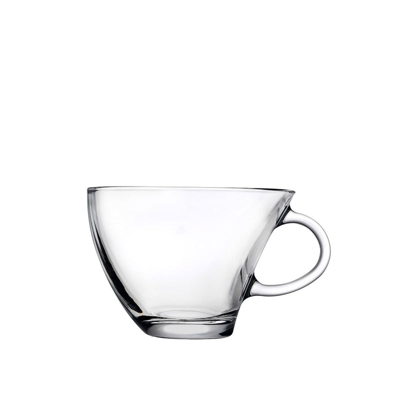 Pasabahce PENGUEN Tea Cup Set with Handle - 0.23 Liter (6 Pcs)