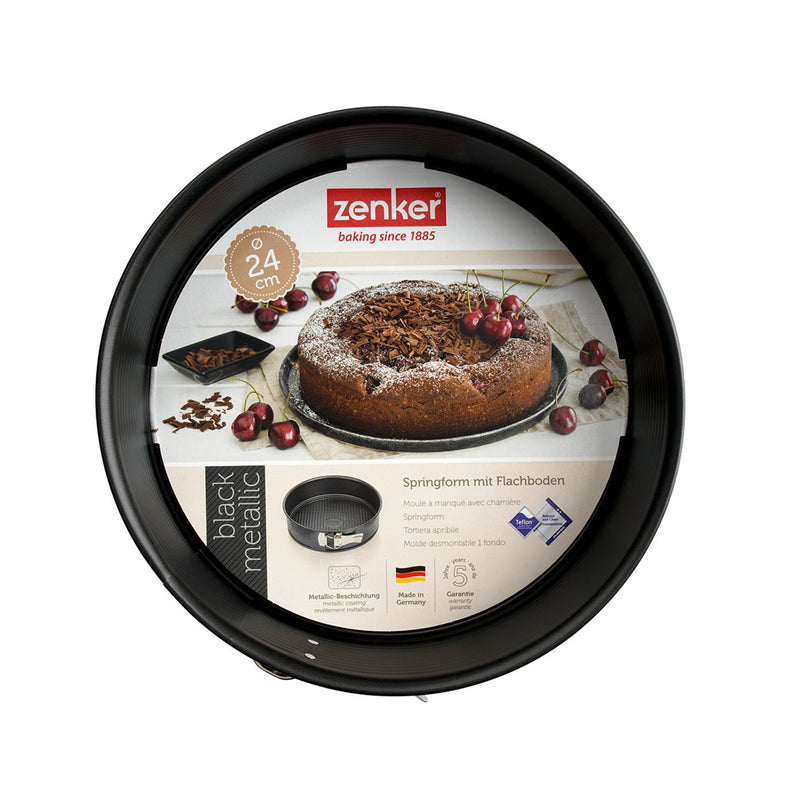 Dr. Oetker by Zenker BlackMetallic Springform With Flat Base