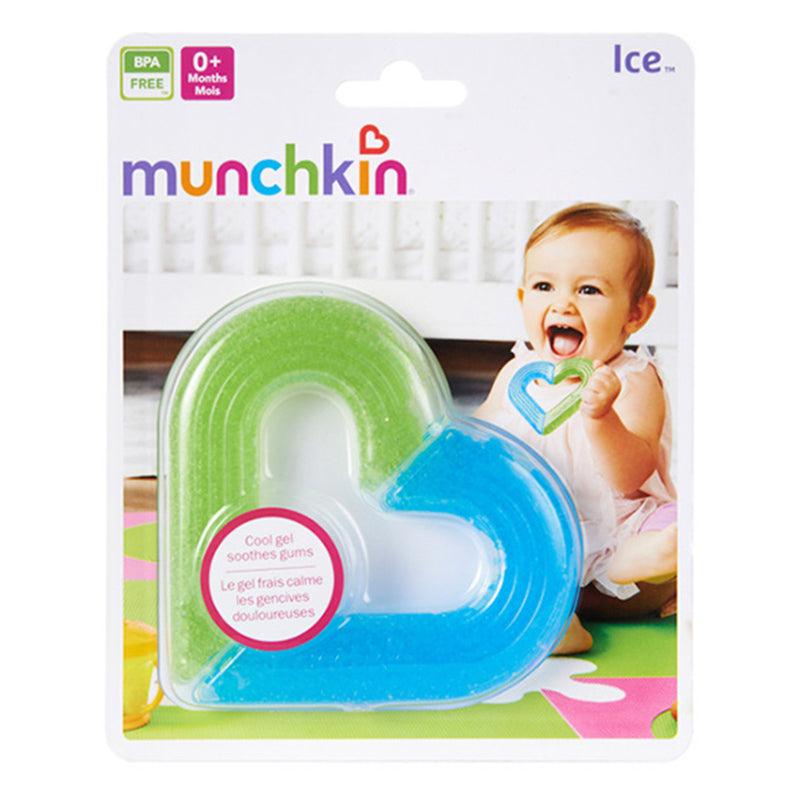Munchkin Ice Heart Gel Teether