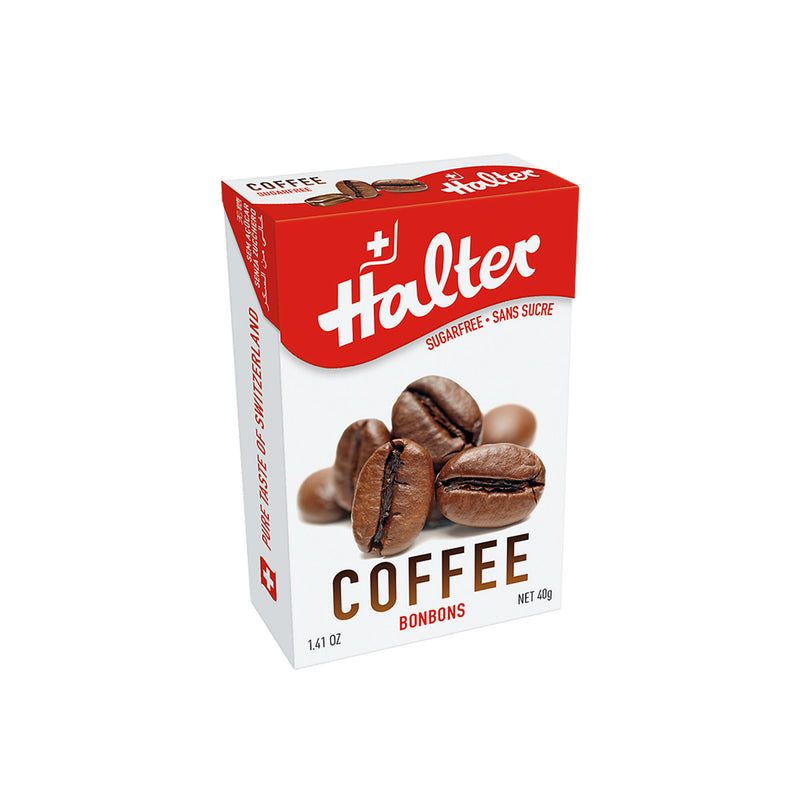 Halter Coffee Sugarfree Bonbons