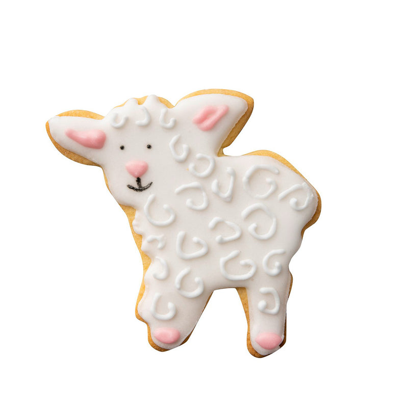 Dr. Oetker by Zenker Cookie Cutter Lamb- Set Tin Plate