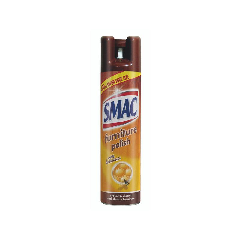 SMAC Furniture Polish Spray With Beeswax 400ml